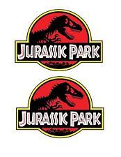 JURASSIC PARK Sticker Decal Vinyl Jeep Safari Dinosaur - Small (2 PACK)