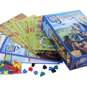 Carcassonne Board Game 2015 Edition Inc River Expansion Family Party Gamees Toys