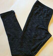 Ideology  Space Stripped Dye Elastic Waist  Leggings Black Gray S