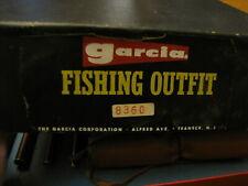 Rare Vintage Garcia Fishing Outfit #8360 Fly Rod Reel Nos + L@K!