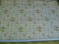 SCALAMANDRE GRIPSHOLM PLAID MULTI ON CREAM SILK COTTON LAMPAS MSRP $600+/y BTY