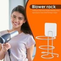 Hair Dryer Holder Wall Mount Hanging Rack Organizer Spiral Bathroom Bracket new