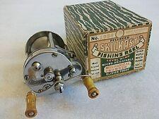 PFLUEGER SKILKAST No 1953 Level Wind Fishing Reel in Original Pflueger Box