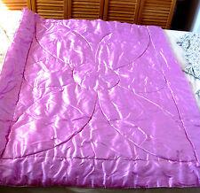 """dessus de lit - plaid """"rose bonbon""""pour lit enfant  -145 cm X 110 cm"""