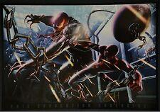 Venom vs Spiderman Print Signed by Greg Horn
