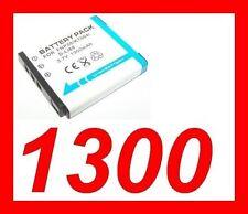 "★★★ ""1300mA"" BATTERIE Fujifilm Fuji NP50 ★ Pour FUJIFILM F80 / F80EXR / F80 EXR"