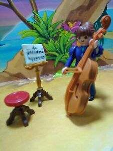 PLAYMOBIL Violonchelista Orchestra Woman Victorian New