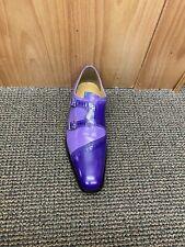 Giorgio Brutini Purple Leather Dress Shoes