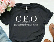 CEO {Curves Exceptionally Owned} Plus Size shirt graphic tee | Up to 4X**