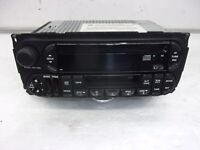 2002-2004 Jeep Grand Cherokee Radio Receiver Cass CD Player ID 56038586AI OEM