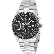 SEIKO SND253 SND253P1 MENS CHRONOGRAPH SLIDE RULE 100M WATCH