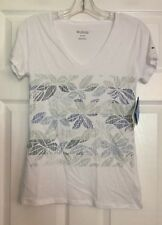 """Columbia ladies knit top v-neck XS """"Sandy Stripes"""" Item:1711021100 New with tags"""