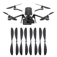 4Pairs Black Durable Propellers Blades Wings for GoPro Karma Drone Accessories