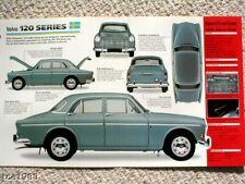 VOLVO 120 Series AMAZON SPEC SHEET/Brochure:1965,1966,