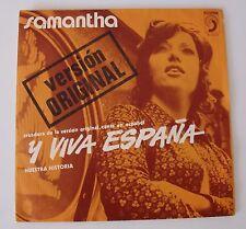 Samantha (S5213) Y viva Espana (1972) Espagnol d'importation