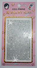 CLR Autoadesivo Autoadesivo Strass Crystal CELLULARE Card Making