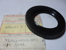 HONDA PC CB VF VT CX TRX650 680 SHAFT DRIVE OIL SEAL NOS OEM P/N 91261-MB0-003