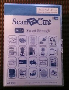 ~::~ SCAN N CUT USB No.23 ~ SWEET ENOUGH ~ TATTERED LACE ~::~