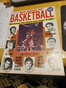 BIG BOOK OF BASKETBALL FEB. 1974 RARE 47 YEARS OLD GREAT CONDITION CONNIE HAWK