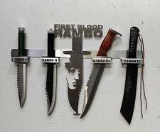 Rambomesser-Set John Rambo I,II,III und IV