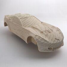 Pre-Cut Pinewood Derby Car C7 Vett Likeness (#153)