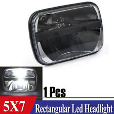 "5X7"" 7x6"" LED Clear Projector Headlight For Ford GMC Jeep Cherokee XJ YJ"