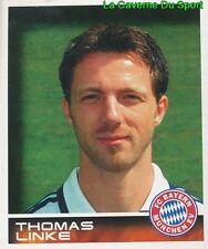 337 THOMAS LINKE DEUTSCHLAND FC BAYERN MÜNCHEN STICKER BUNDESLIGA 2001 PANINI