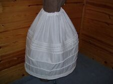 Womens corded petticoat Civil War reenactment, Reneissance