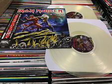IRON MAIDEN 2 LP I RAN TO BRIXTON  CLEAR VINYL