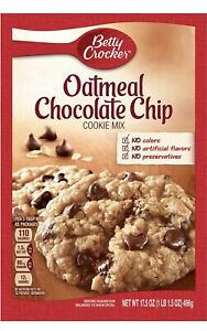 Betty Crocker Oatmeal Chocolate Chip Cooke mix Pack of 2