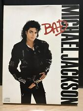 RARE MICHAEL JACKSON BAD COMPACT DISC JAPAN CD SPECIAL BOX SET Unused
