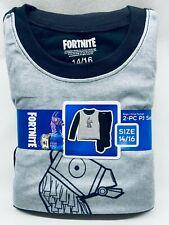 Boys Pajamas FORTNITE Llama 2 Pc Flannel Pants Long Sleeves Kids PJ Set NEW NWT