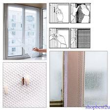 Fenêtre anti-insecte mouche moustique écrans Rideau Mesh Net Protector gaze