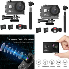 DBPOWER 4K Sport Action Camera WIFI 12MP Ultra HD Waterproof Underwater Camera 1