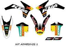 kit pegatinas ktm exc-sx 125-500, 2012, 2013, graphics, adhesivo, decal, sticker