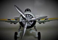Vintage Aircraft Airplane Metal Plane WW2 Military Armor 1 48 Carousel Gray B17