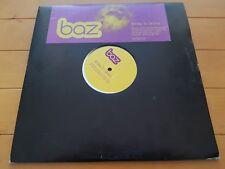 "Baz – Smile To Shine 2001 2 x 12"" Promo DEEP HOUSE"