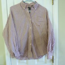 Girls Roper Long Sleeve Western Shirt RED  White Plaid Sz L