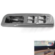 Car Window Switch Panel Bezel Cover Carbon Fiber for VW Passat Golf Jetta MK4