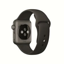 New Sealed Apple Watch Sport 38mm Space Gray Aluminum Case with Black Sport Band