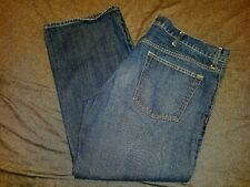 Men's Old Navy Straight Fit Blue Denim Jeans Preowned 42x30