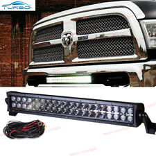 "For Dodge Ram 1500/2500/3500 Front Lower Bumper Grille 20"" LED Light Bar w/ Wire"