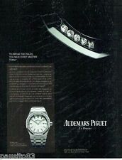 PUBLICITE ADVERTISING  116  2013  Audemars Piquet montre le Brassus