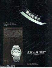 PUBLICITE ADVERTISING  116  2013  Audemars Piquet montre le Brassus