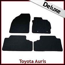 Toyota Auris Mk1 E150 2006-2012 Tailored LUXURY 1300g Carpet Floor Mats BLACK