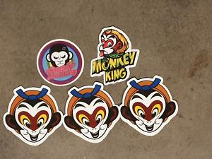 Monkey King Style sticker pack x 5,