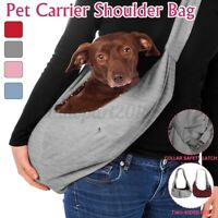 Pet Carrier Latch Shoulder Pouch Travel Carry Bag Sling Backpack Dog Cat Puppy