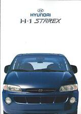 Auto Brochure - Hyundai - H-1 Starex - GERMAN prospekt - c1999 (A1219)
