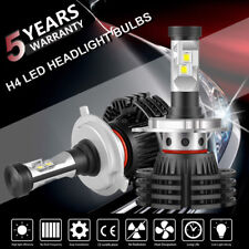 H4 9003 LED Headlight Kit Bulbs Cool White 6500K 1300W 195000LM High Power Lamps