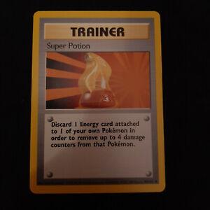 4th PRINT Super Potion Trainer Pokemon Card Lot FOURTH 1999-2000